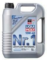 Motorový olej Liqui Moly Nr.1 10W40 5L