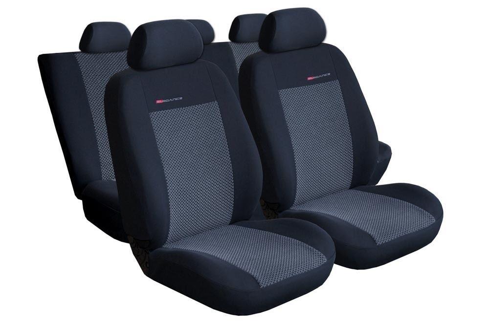 Autopotahy Peugeot Partner II, 1+1+1, od 2008r., černé SIXTOL