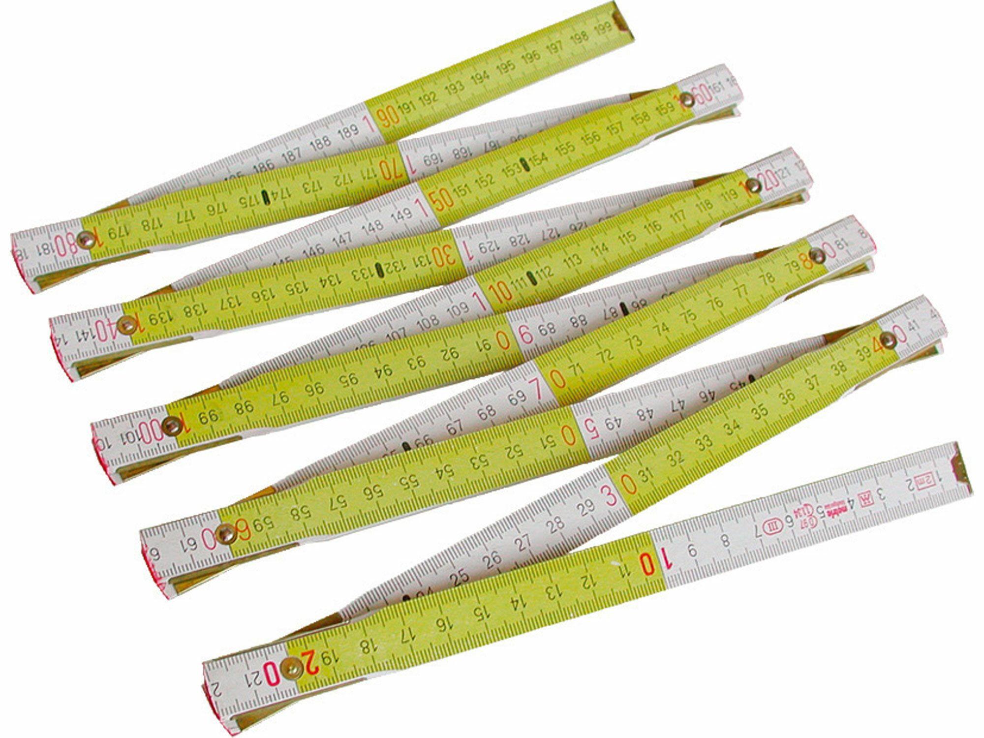 Metr skládací dřevěný METRIE, 1m EXTOL-PREMIUM