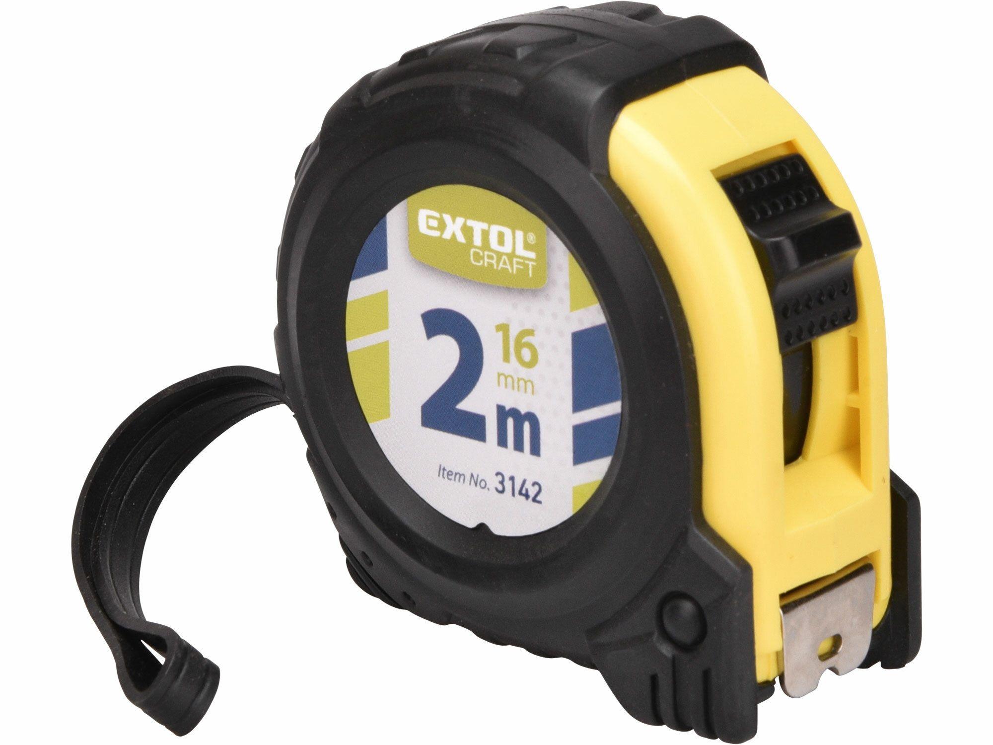 Metr svinovací, 2m, š. pásku 16mm EXTOL-CRAFT