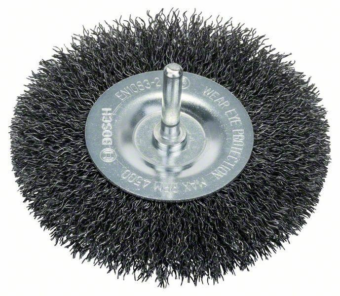 Kotoučový kartáč - 100 mm, 0,3 mm, 10 mm - 3165140004541 BOSCH