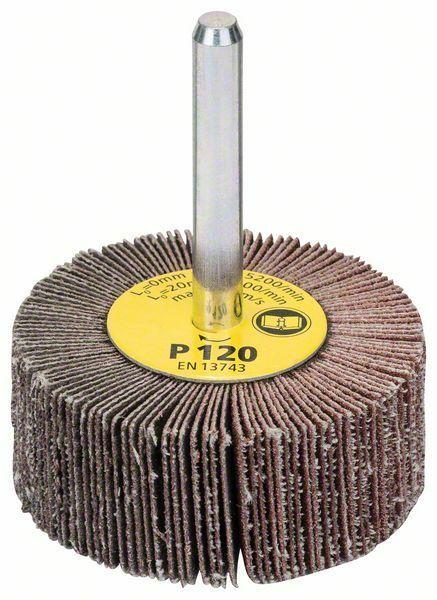 Lamelové brusné kotouče; 6 mm, 120, 50 mm, 20 mm - 3165140004589 BOSCH