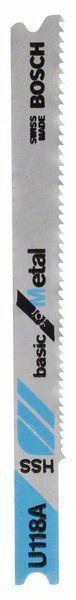 Pilový plátek do kmitací pily U 118 A - Basic for Metal - 3165140007412 BOSCH