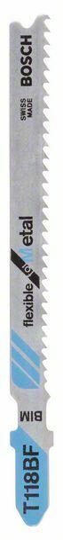 Pilový plátek do kmitací pilky T 118 BF - Flexible for Metal - 3165140007603 BOSCH