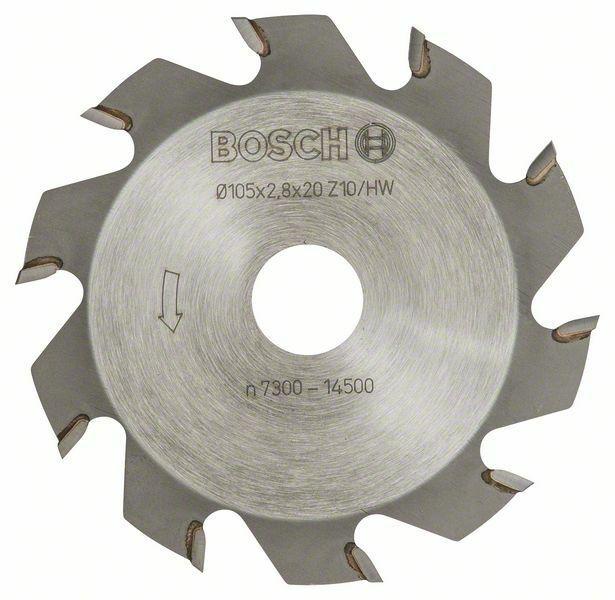 Kotoučová fréza - 10, 20 mm, 2,8 mm BOSCH