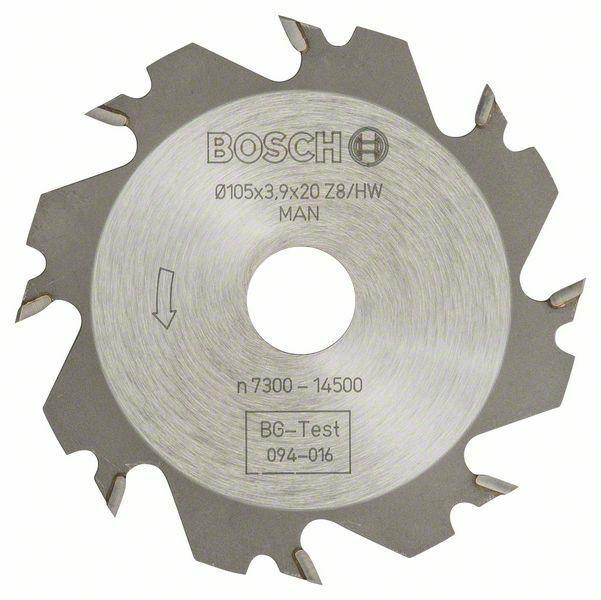 Kotoučová fréza - 8, 20 mm, 4 mm - 3165140013802 BOSCH