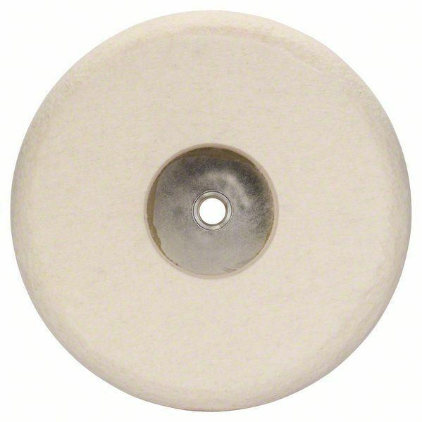 Plstěný lešticí kotouč se závitem M 14; 180 mm - 3165140026543 BOSCH