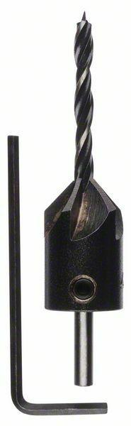 Spirálové vrtáky do dřeva se záhlubníkem - 4 mm - 3165140059978 BOSCH