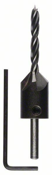 Spirálové vrtáky do dřeva se záhlubníkem - 5 mm - 3165140059985 BOSCH