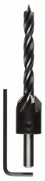 Spirálové vrtáky do dřeva se záhlubníkem - 8 mm - 3165140060011 BOSCH