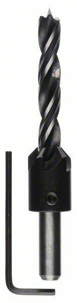 Spirálové vrtáky do dřeva se záhlubníkem - 10 mm - 3165140060028 BOSCH