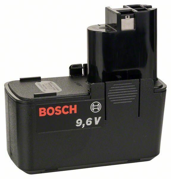Plochý akumulátor 9,6 V - SD, 1,5 Ah, NiCd BOSCH