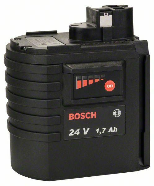 Zásuvný akumulátor 24 V - HD, 1,7 Ah, NiCd BOSCH
