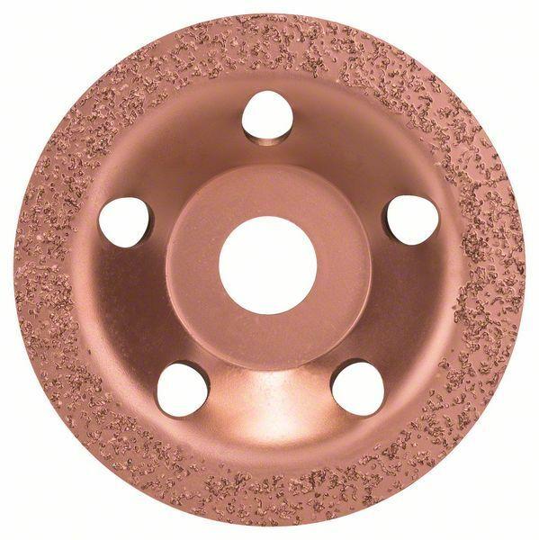 Hrncový kotouč z tvrdokovu - 115 x 22,23 mm; jemný, plochý - 3165140103848 BOSCH