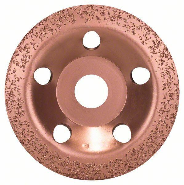 Hrncový kotouč z tvrdokovu - 115 x 22,23 mm; jemný, šikmý - 3165140103879 BOSCH