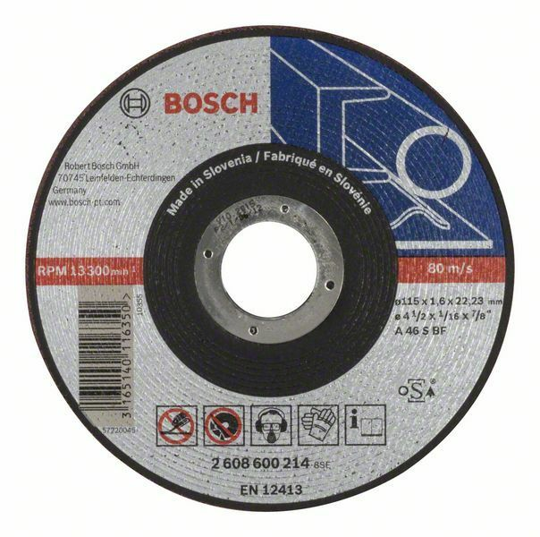 Dělicí kotouč rovný Expert for Metal - AS 46 S BF, 115 mm, 1,6 mm - 3165140116350 BOSCH