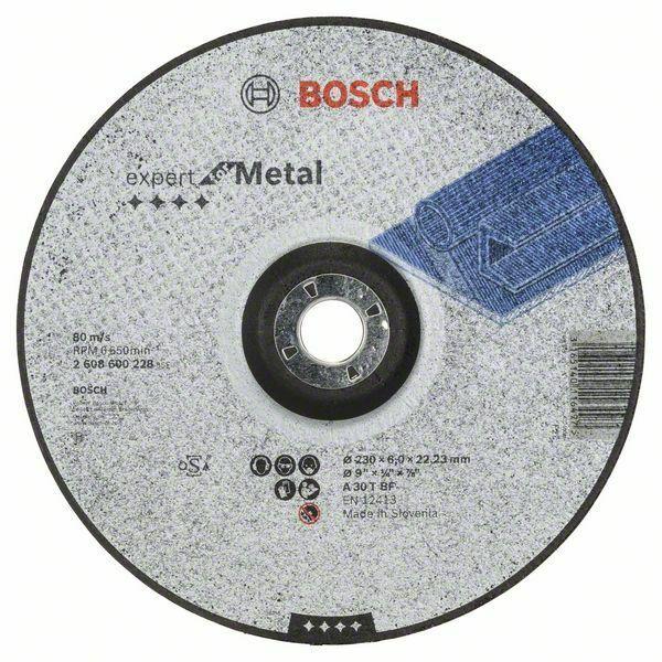 Hrubovací kotouč profilovaný Expert for Metal - A 30 T BF, 230 mm, 6,0 mm - 3165140116497 BOSCH