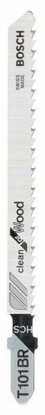 Pilový plátek do kmitací pily T 101 BR - Clean for Wood - 3165140127677 BOSCH