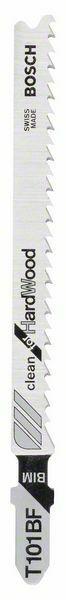 Pilový plátek do kmitací pilky T 101 BF - Clean for Hard Wood - 3165140127714 BOSCH