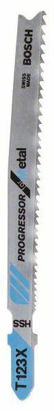 Pilový plátek do kmitací pily T 123 XF - Progressor for Metal - 3165140128049 BOSCH