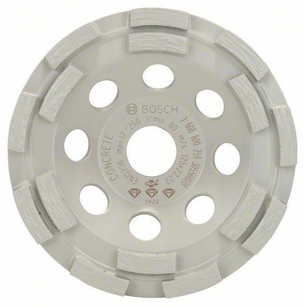 Diamantový hrncový kotouč Best for Concrete - 125 x 22,23 x 4,5 mm BOSCH