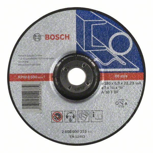 Hrubovací kotouč profilovaný Expert for Metal - A 30 T BF, 180 mm, 6,0 mm - 3165140149372 BOSCH