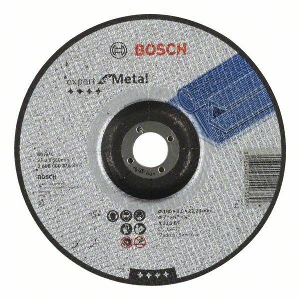Dělicí kotouč profilovaný Expert for Metal - A 30 S BF, 180 mm, 3,0 mm BOSCH