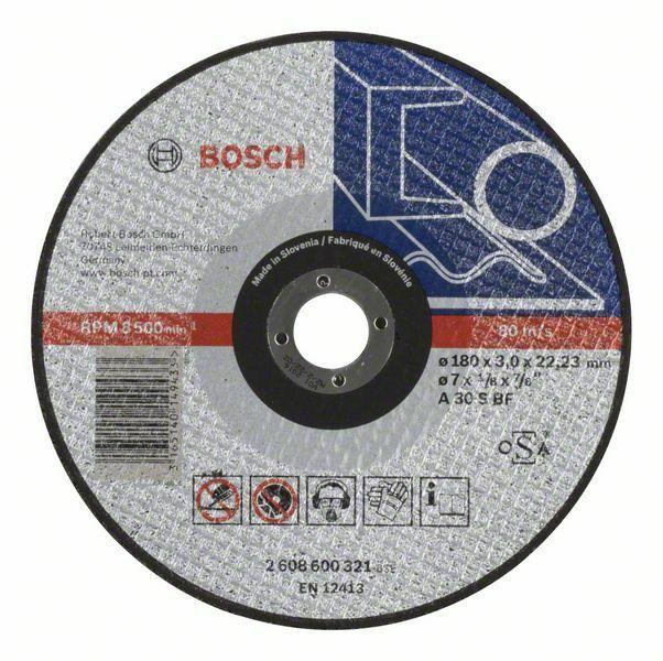 Dělicí kotouč rovný Expert for Metal - A 30 S BF, 180 mm, 3,0 mm - 3165140149433 BOSCH