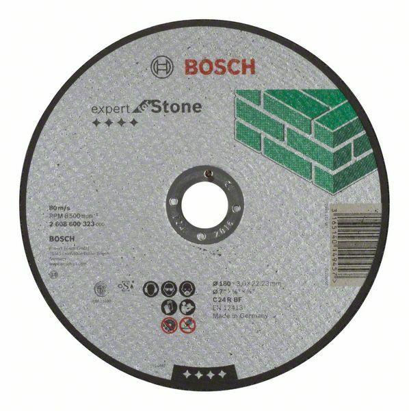 Dělicí kotouč rovný Expert for Stone - C 24 R BF, 180 mm, 3,0 mm - 3165140149457 BOSCH