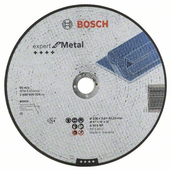 Dělicí kotouč rovný Expert for Metal - A 30 S BF, 230 mm, 3,0 mm BOSCH