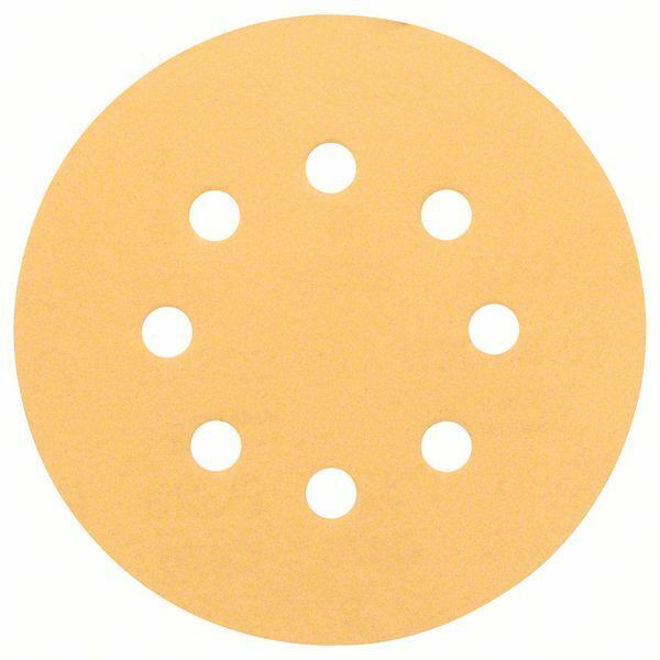 Brusný papír C470, balení 5 ks; 125 mm, 120 - 3165140158886 BOSCH
