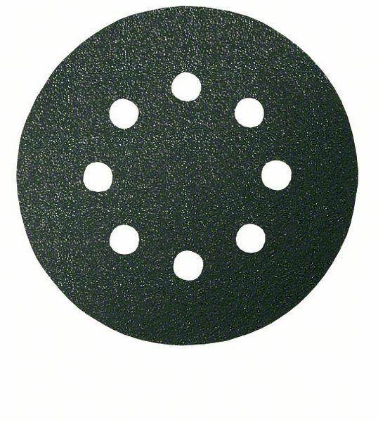 Brusný papír F355, balení 5 ks; 125 mm, 100 - 3165140159340 BOSCH