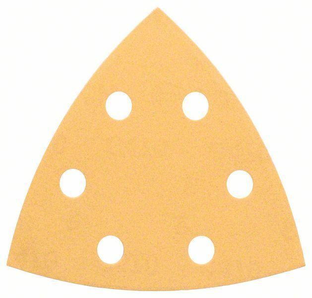 Brusný papír C470, balení 5 ks; 93 mm, 80 - 3165140159685 BOSCH