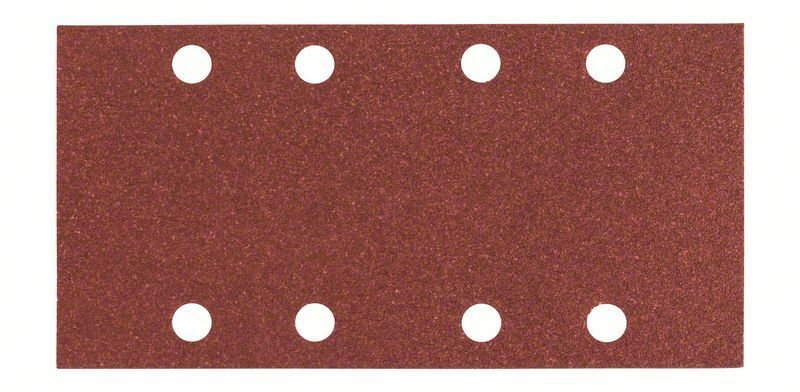 Brusný papír C430, balení 10 ks; 93 x 186 mm, 80 - 3165140161213 BOSCH