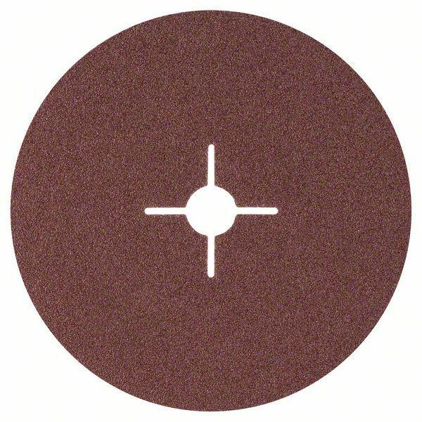 Fíbrový brusný kotouč R444, Expert for Metal; 180 mm, 22 mm, 60 - 3165140163064 BOSCH