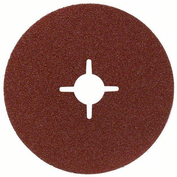 Fíbrový brusný kotouč R444, Expert for Metal; 180 mm, 22 mm, 100 - 3165140163088 BOSCH