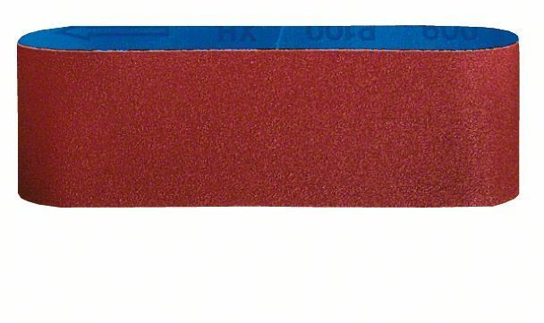 3dílná sada brusných pásů X440; 75 x 457 mm, 80 - 3165140163705 BOSCH