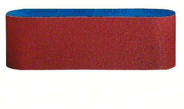 3dílná sada brusných pásů X440; 100 x 610 mm, 80 - 3165140164672 BOSCH