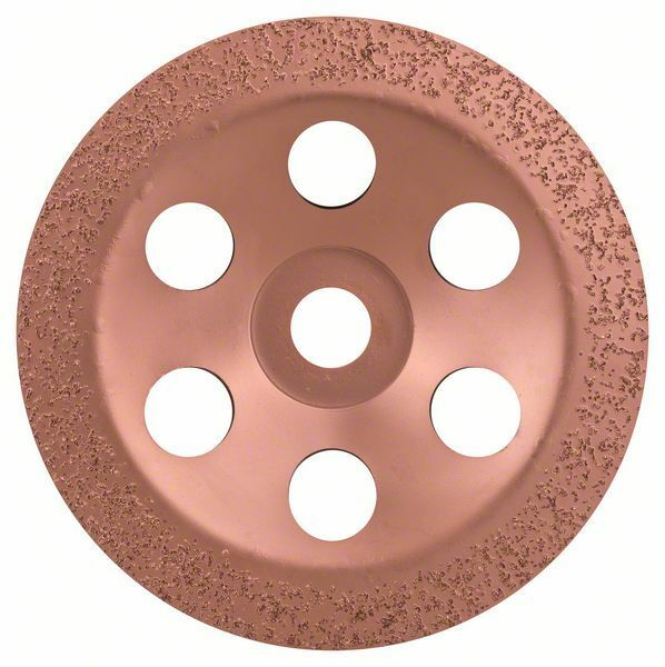 Hrncový kotouč z tvrdokovu - 180 x 22,23 mm; jemný, plochý - 3165140168410 BOSCH