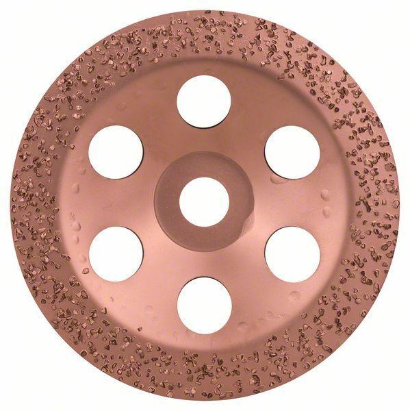 Hrncový kotouč z tvrdokovu - 180 x 22,23 mm; hrubý, plochý - 3165140168434 BOSCH