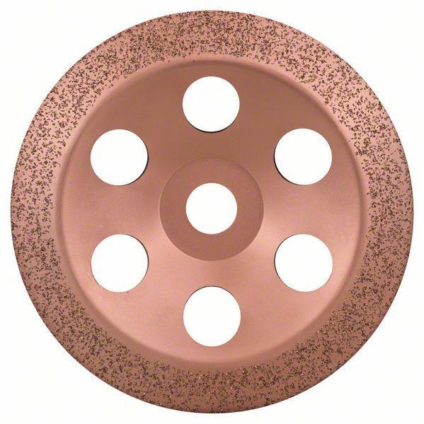 Hrncový kotouč z tvrdokovu - 180 x 22,23 mm; jemný, šikmý - 3165140168441 BOSCH