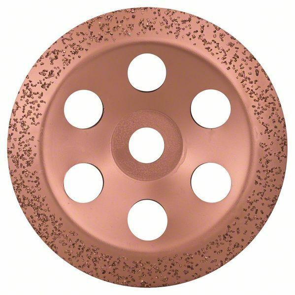 Hrncový kotouč z tvrdokovu - 180 x 22,23 mm; střední, šikmý - 3165140168458 BOSCH