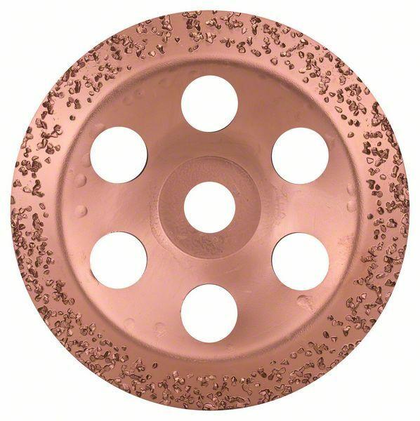 Hrncový kotouč z tvrdokovu - 180 x 22,23 mm; hrubý, šikmý - 3165140168465 BOSCH