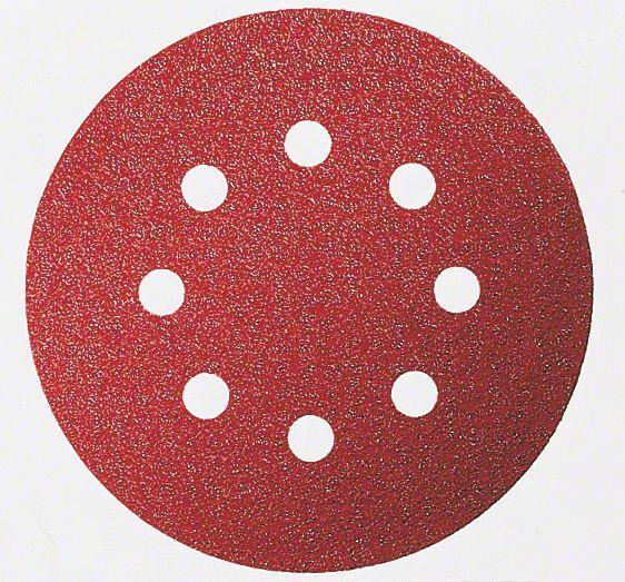Brusný papír C430, balení 5 ks; 125 mm, 80 - 3165140171267 BOSCH