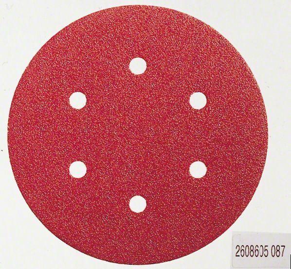 Brusný papír C430, balení 5 ks; 150 mm, 120 - 3165140172042 BOSCH