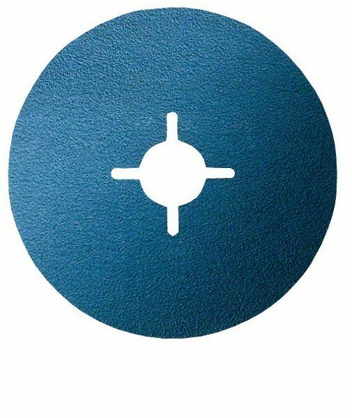 Fíbrový brusný kotouč R574, Best for Metal; 125 mm, 22 mm, 80 - 3165140179997 BOSCH