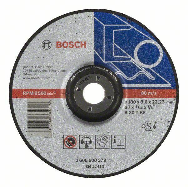 Hrubovací kotouč profilovaný Expert for Metal - A 30 T BF, 180 mm, 8,0 mm - 3165140181686 BOSCH