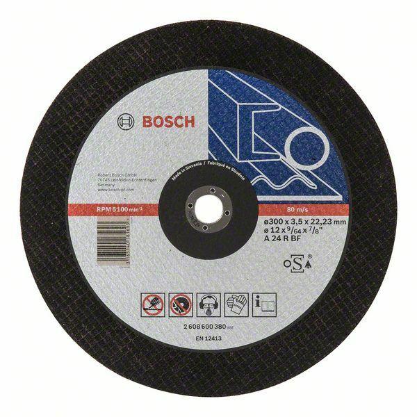 Dělicí kotouč rovný Expert for Metal - A 24 R BF, 300 mm, 3,5 mm - 3165140181693 BOSCH