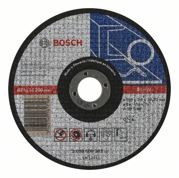 Dělicí kotouč rovný Expert for Metal - A 30 S BF, 150 mm, 2,5 mm BOSCH
