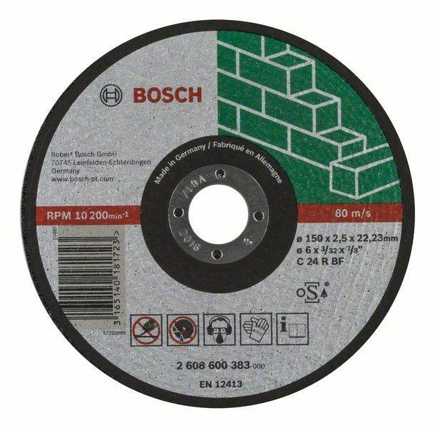 Dělicí kotouč rovný Expert for Stone - C 24 R BF, 150 mm, 2,5 mm - 3165140181723 BOSCH